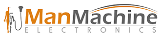 Man machine Electronics footer Logo