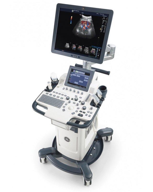 GE Logiq F8 Ultrasound Machine